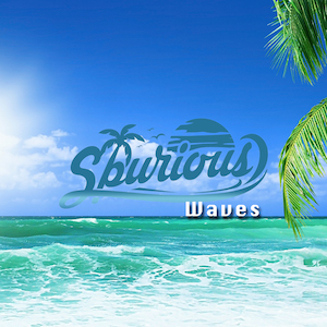 The cover of the chill out song Waves by Spurious on Chill Out Now