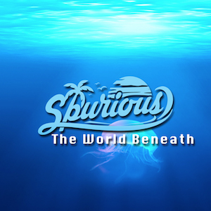 The cover of the chill out song The World Beneath by Spurious on Bacci Bros Records