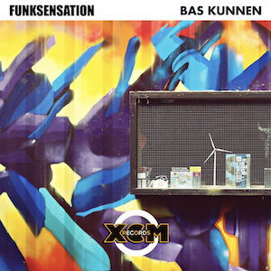 The cover of the Spurious Remix from the song Bas Kunnen - Funksensation on XCM Records