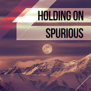 The cover of the chill out EP Holding On by Spurious containing remixes by Spurious, John Deviate, Remundo and LEZAMAboy on XCM Records