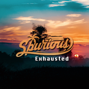 The cover of the chill out song Exhausted by Spurious on XCM Records