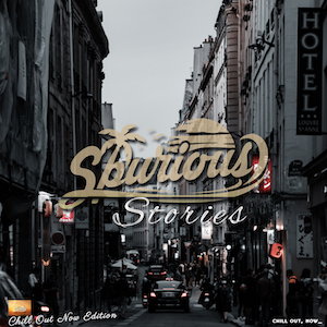 The cover of Spurious - Stories (Chill Out Now Edition)